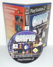 CASPER AND THE GHOSTLY TRIO - Playstation 2 Ps2 Play Station Gioco Game Bambini