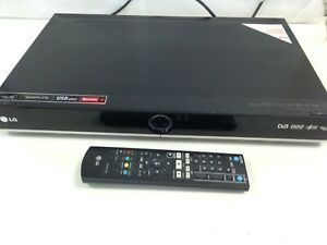 LG RHT497H DVD Player Recorder 160GB HDD Freeview HDMI Home Cinema Black #658