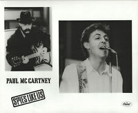 Spies Like Us Paul McCartney 8 X 10 Black & White Glossy Photograph