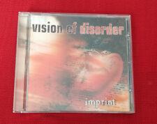 """CD album complet HARD ROCK - VISION OF DISORDER album """" imprint """" année 1998"""