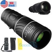 Day/Night Vision 40x60 Zoom HD Monocular Starscope Monocular Telescope BAK4