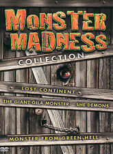 Monster Madness Collection (DVD, 2005, 4-Disc Set) Lost Continent She Demons