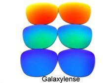 Galaxie de rechange LENTILLE pour Ray-Ban RB3016 CLUBMASTER bleu / VERT / Rouge