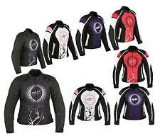 100% Waterproof Motorbike Motorcycle Ladies CE Armour Jacket Women Gear Textile