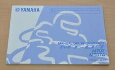 YAMAHA MT-07 MT07 MT07A Manual del Propietario Spanisch Bedienungsanleitung 2013