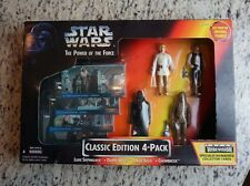 Classic Edition 4-Pack 1995 STAR WARS Power of the Force POTF MIB TRU Exclusive