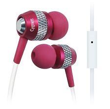 Cygnett Atomic II Headphones With Mic & Remote For iPod, iPhone & iPad - Pink