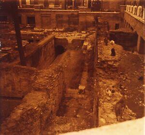 ITALIE Rome Forum Républicain Républicain1952 Photo Stereo Plaque verre Vr1