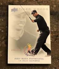 New listing 2013 UD MASTER COLLECTION #55 TIGER WOODS 2007 BUICK INVITATIONAL GOLF GOAT /200