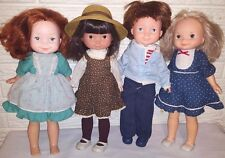 Lot of Vintage 1980s Fisher Price Dolls My Friend Becky Jenny Mandy Mikey