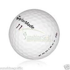 24 NEAR MINT TaylorMade Project (a) Used Golf Balls (4A)