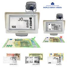 Rilevatore Banconote False Verificatore Visore Infrarosso Monitor LCD