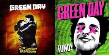 "GREEN DAY -  UNO + 21st.CENTURY BREAKDOWN - Ltd. Ed. 3x10"" + 60 Page Book + CD +"
