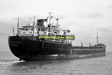 mc1113 - Houlder Cargo Ship - Joya McCance , built 1960 - photo 6x4