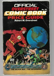 1990 Overstreet Comic Book Price Guide No 20 Justice League of America cover VGF