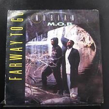 "Nubian M.O.B. - Farway To Go 12"" Mint- PRO-A-5427 Promo 1992 Vinyl Record"