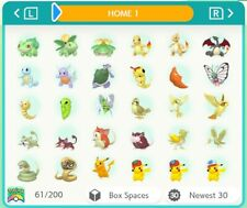 Pokemon Home ALL 807 Full Living Dex All Forms gen 1-7 960 Pokemon Smogon Build