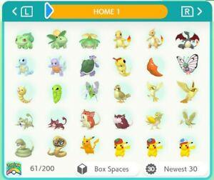 Pokemon Home ALL 807 Full Living Dex All Forms gen 1-7 960 Pokemon Smogon Build