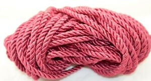 Twisted Drapery Cord WINE - 14 YDS - New