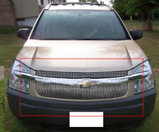Fits 2005-2009 Chevy Equinox 4mm Vertical Bars Overlay Aluminum Billet Grilles