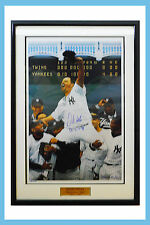 "1998 May 17 David Wells Autographed Lithograph ""Perfect Game"" No: 288 Of 2000."