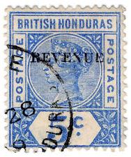 (I.B) British Honduras Revenue : Duty Stamp 5c
