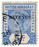 (I.B) British Honduras Revenue : Duty Stamp 5c