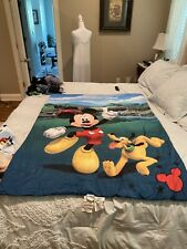 Disney 3 Piece Toddler Bedding Set, Mickey Mouse Playhouse Pre Owned