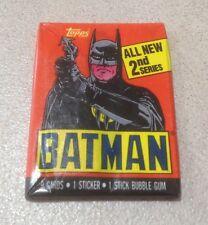 1989 Topps Batman (The Movie) Series 2 - Wax Pack (Batman Variation)