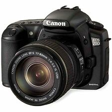 Excellent! Canon EOS 20D 8.2MP Digital SLR (Body Only) - 1 year warranty