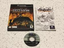 Nintendo Gamecube Batman Rise of Sin Tzu Game Complete CIB Disc is Nr Mint