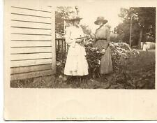 Young Edwardian Fashion Hat Women By Flowers L E Webb 1910s Photo MORGANTON NC