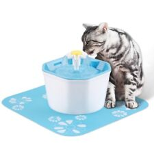Pet Fountain Automatic Cat Dog Water Dispenser Drinking Waterfall Bowl +2Filters