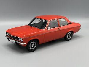 Opel Ascona A 1973 , rot  ( neue Farbvariante ) 1:18 BOS  **NEW**