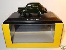 NOREV RENAULT 4CV 4 CV 1950 POSTES POSTE PTT 1/43 in LUXE BOX