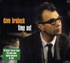 DAVE BRUBECK - TIME OUT - PLUS BONUS ALBUM (NEW 2CD)