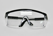 Dental Lab Student Protective Eyewear Goggles Glasses Black Frame Infection Care