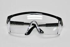 Dental Lab Student Protective Eyewear Goggles Glasses Black Frame Infection Care