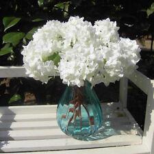 Hot Milk White Artificial Fake Flower Arrangement Home Hotel Room Wedding Decor