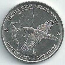 Transnistria - 1 Ruble Green Woodpecker