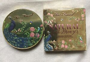 Too Faced Natural Lust Dual Tone Satin Bronzer NEW & GENUINE