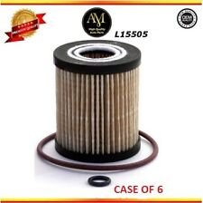 Case of 6 L15505 Oil Filter Mazda 6 CX-7 Ford Escape Mercury 2.0L 2.3L 2.5L