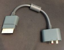 XBOX 360 ✔ HEADSET OPTICAL AUDIO ADAPTER CABLE RCA TURTLE BEACH ✔ SHIPS FAST