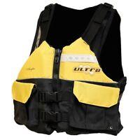 Ultra Angler Yellow Kayak Life Jackets PFD L50