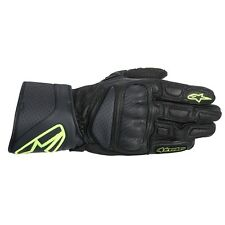 *NEW* Alpinestars SP-8 Gloves Black/Yell Fluo - SIZE SMALL S
