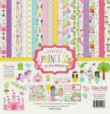 Princess Castle Carriage Fairies Fairytale Echo Park Scrapbook Page Kit 12 x 12