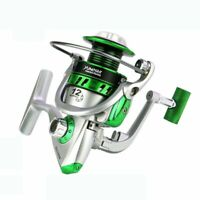 12BB 5.5:1 Lure Spinning Reel Freshwater Saltwater Spool Right Left Handed