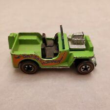 Original Hot Wheels Redline Grass Hopper Green Enamel Excellent HONG KONG NICE!