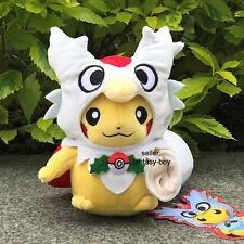 "Nintendo Pokemon Go Pikachu With Delibird Suit Plush Toy Stuffed Animal Doll 8"""