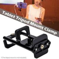 Universal 1/4'' Thread Tripod Mount Holder Stand Bracket Adapter For IPad Tablet